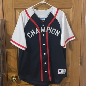 NWT Champion Baseball Jersey